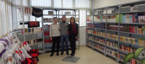 Biblioteca Aman a donat o colecție de carte românească Centrului Cultural Românesc din Kladovo