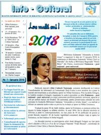 Newsletter ianuarie 2018